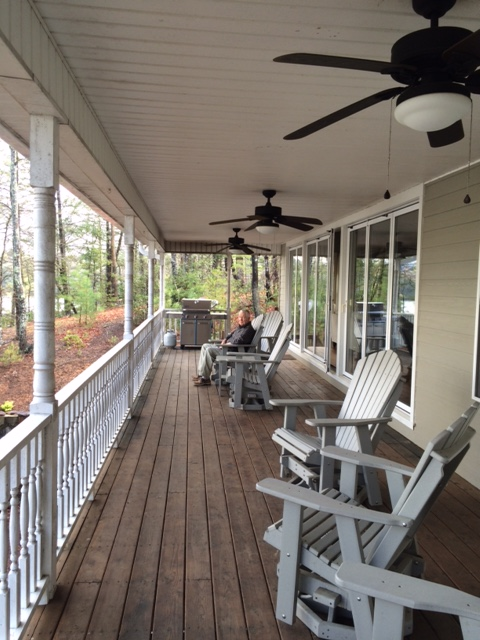 Easter porch