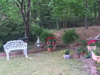 yard bench 2