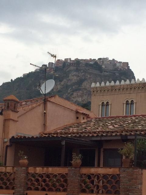 Castemola from Terrace