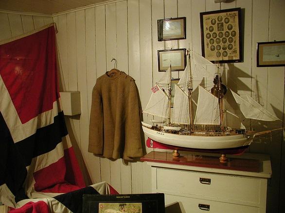 Fram-Museum-Captains-Room