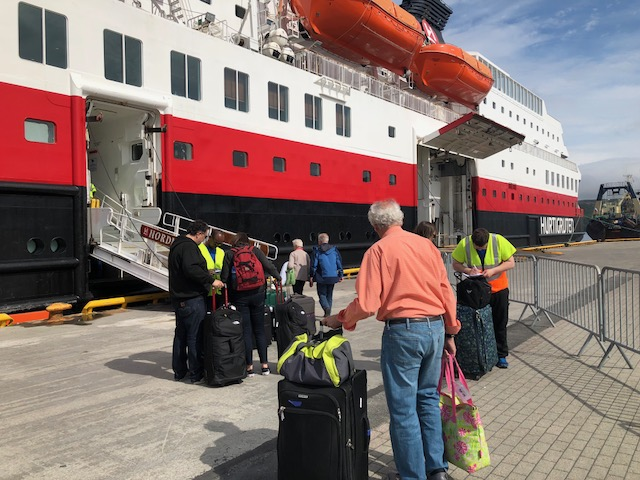 Nordnorge Arrival