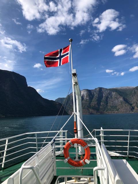 Undredal Ferry Flag