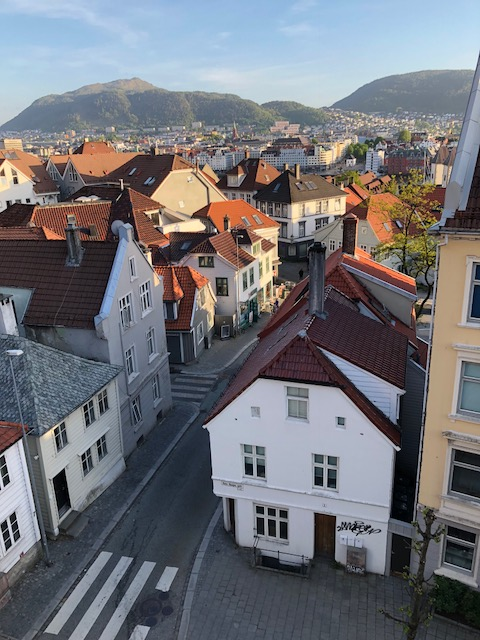 Bergen Apt View