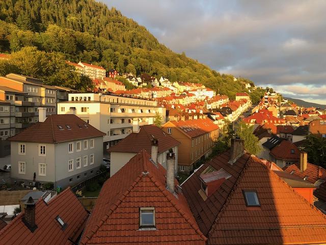 Bergen View Midnight Sun
